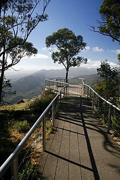 Viewing platform in the Grampians National Park, Victoria, Australia