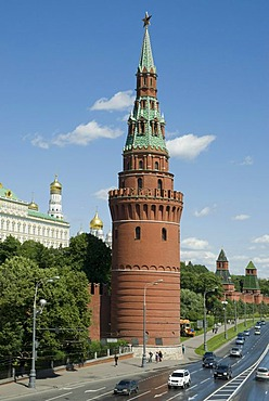 Moscow Kremlin tower, Moscow, Russia