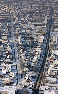 Aerial photo, Werries, Hamm, Ruhr area, North Rhine-Westphalia, Germany, Europe