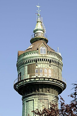 Water tower in Lokstedt, Hamburg, Germany, Europe