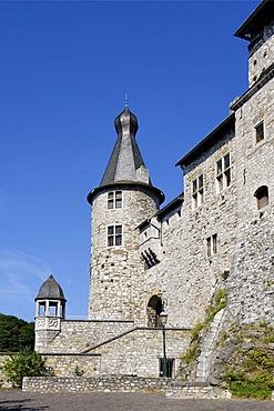 Castle, historic town, Stolberg, North Rhine-Westfalia, Germany, Europe