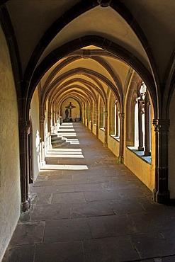 Cloister, convent church Kyllburg, Rhineland-Palatinate, Germany, Europe