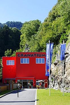 Granatium granat museum, at the Kaningerbach creek, Radenthein, Carinthia, Austria, Europe