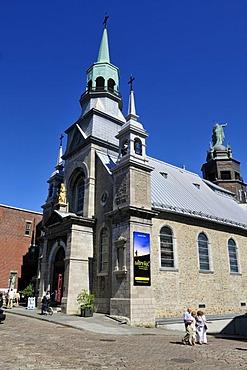 Chapelle Notre Dame de Bon Secours, chapel, Vieux Montreal, Quebec, Canada, North America