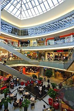 Shopping centre Kroepeliner Tor Center, Hanseatic city of Rostock, Mecklenburg-Western Pomerania, Germany, Europe