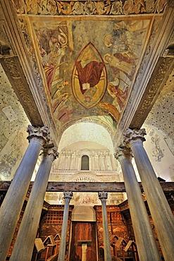 Church Santa Maria in Valle, 8th century, probably a Lombard Palatine chapel, Cividale, Friuli, Italy, Europe