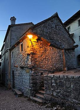 Medieval town of aetanjel, San Daniele del Carso, Slovenia, Europe