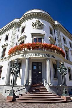 State parliament building in Wiesbaden, Hesse, Germany, Europe