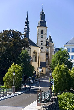 Church in Luxembourg, Europe