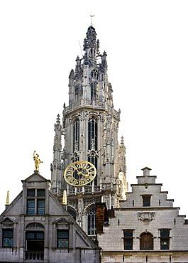 Onze-Lieve-Vrouwekathedraal Cathedral of Our Lady, Antwerp, Flanders, Belgium, Europe