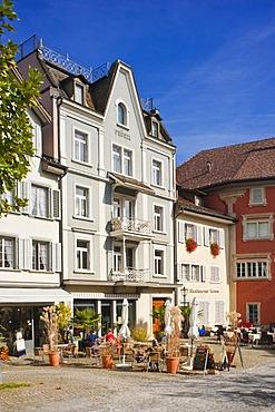 Old town, Rapperswil, Sankt Gallen, Switzerland, Europe