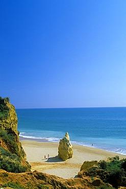 Beach, Praia da Rocha, Portimao, Algarve, Portugal, Europe