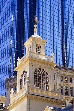 Old State House, Freedom Trail, Boston, Massachusetts, New England, USA