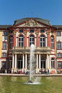 Bruchsal Residence Palace of the Prince Bishops of Speyer, Bruchsal, Baden-Wuerttemberg, Germany, Europe