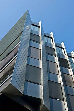 Westhafen Pier, office and event building, Westhafen, Frankfurt, Hesse, Germany, Europe