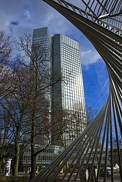 European Central Bank, ECB, Eurotower, Frankfurt am Main, Hesse, Germany, Europe