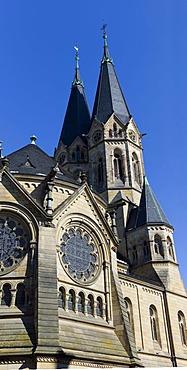 Ringkirche, Protestant church, Wiesbaden, Hessen, Germany, Europe