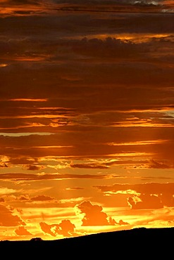 Sunset sky, Northwest Australia