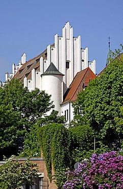 Herzogskasten, the old ducal castle, Ingolstadt, Bavaria, Germany, Europe