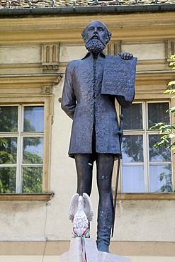 Statue of Count Batthyany Lajos, 1807-1849, Budapest, Hungary, Europe