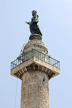 Trajan's Column, Rome, Italy, Europe