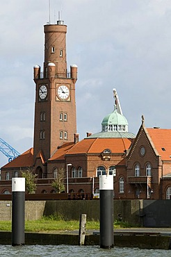 Hapag-Hallen halls in the old fishing port, North Sea resort Cuxhaven, Lower Saxony, Germany, Europe