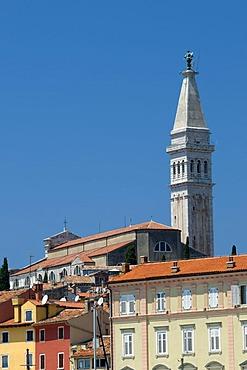 Parish church of Sv. Eufemija in the historic town, Rovinj, Istria, Croatia, Europe