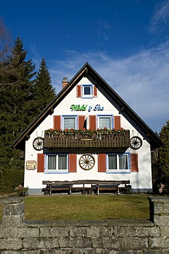 """Pension """"Wald und See"""", Titisee, Black Forest, Baden-Wuerttemberg, Germany, Europe"""