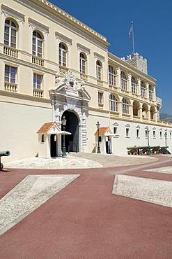 Prince's palace, Palais Princier du Monaco, Monte Carlo, Cote d'Azur, Monaco, Europe