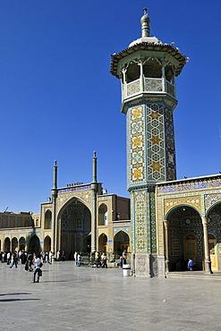 Holy Fatima al-Masumeh mosque at Qom, Qum, Ghom, Persia, Iran, Asia