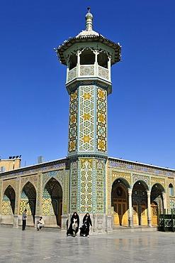 Holy Fatima al-Masumeh mosque at Qom, Qum, Ghom, Iran, Asia