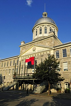 Historic Marche Bonsecour Market, Vieux Port of Montreal, Quebec, Canada, North America