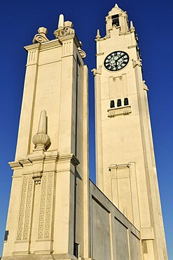 Tour de l'Horloge, clocktower at Vieux Port, Montreal, Quebec, Canada, North America