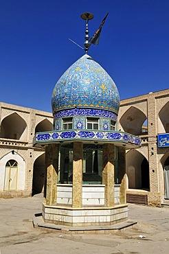 Washing facilities in a mosque at Nain, Isfahan, Esfahan, Iran, Persia, Asia