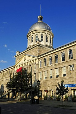 Historic Marche Bonsecours market, Vieux Port, old port of Montreal, Quebec, Canada, North America