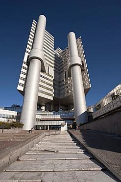 Hypo-Haus skyscraper, Munich, Bavaria, Germany, Europe, PublicGround