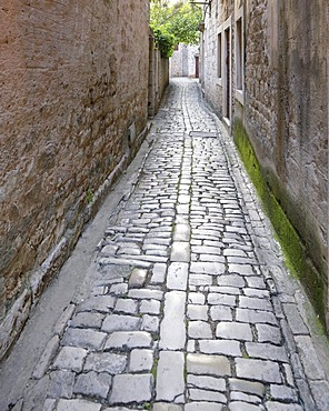 Lane in Trogir, Croatia, Europe