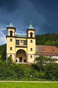 Wallfahrtskirche Mater Dolorosa pilgrimage church, Bad Rippoldsau-Kloesterle, Black Forest, Baden-Wuerttemberg, Germany, Europe