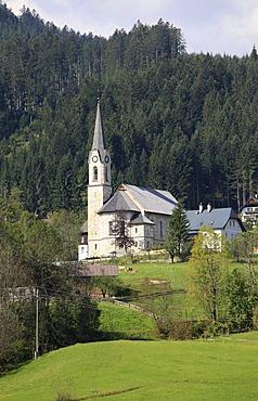 Protestant church, Gosau, Salzkammergut region, Upper Austria, Austria, Europe