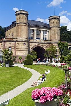 Botanical Garden, on the outskirts of the castle gardens, Karlsruhe, Baden-Wuerttemberg, Germany, Europe
