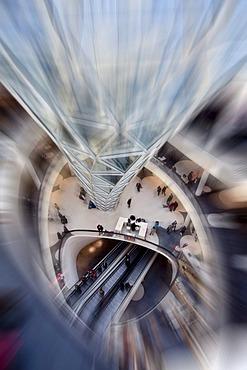 My Zeil shopping centre on the Zeil pedestrian zone, Frankfurt, Hesse, Germany, Europe