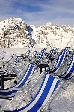 Schlick 2000 ski resort, Stubai Valley, Austria, Europe