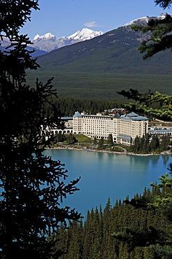 Hotel Fairmont Chateau, Lake Louise, Banff National Park, Alberta, Canada