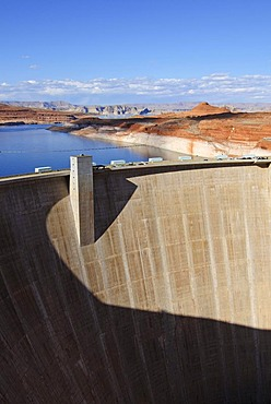 Glen Canyon Dam, Lake Powell, Arizona, United States