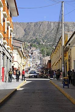 Road, Lima, Ayacucho, Inca settlement, Quechua settlement, Peru, South America, Latin America