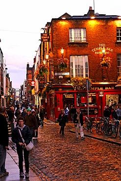 The Temple Bar, restaurant, bistro, Dublin, Ireland, Europe