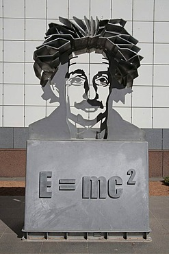 Albert Einstein's theory of relativity in the Science Museum in Canberra, Australia