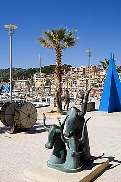 Port de Soller, Majorca, Balearic Islands, Spain, Europe