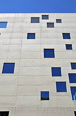 Zollverein School of Management and Design GmbH iL, opened in 2006, architecture firm SANAA, Zeche Zollverein, Essen, North Rhine-Westphalia, Germany, Europe
