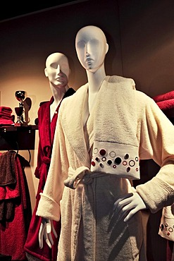 Window display, fashion boutique, Theatinerstrasse, Munich, Bavaria, Germany, Europe